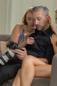 super long hair pornstar posing nude