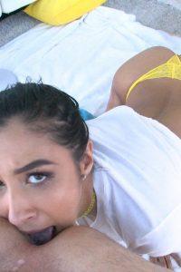 Gianna returns the ass licking favor at Nympho
