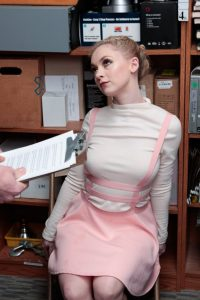 Athena Rayne caught for stealing