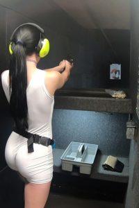 Firing the gun