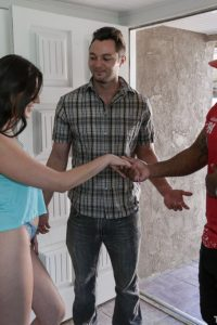Miranda meeting her bfs new friend