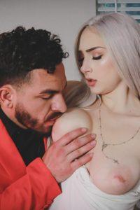 Peter Green licking boobies