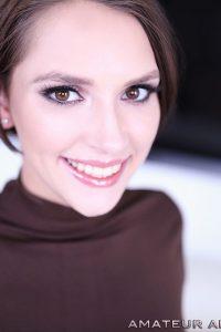 Natalie Porkman smiles