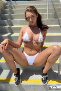 Hot in bikini