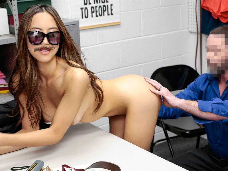 Alexia Anders at Shoplyfter